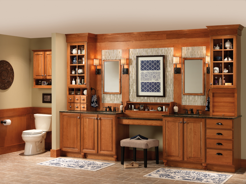 ... Bathroom Ideas Bathroom Design Bathroom Vanities For Merillat Kitchen  Cabinets ...