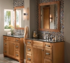 Kraftmaid Contemporary Bathroom
