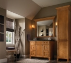 Kraftmaid Transitional Modern Bathroom