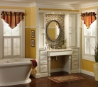 Merillat Classic Spring Valley in Maple Chiffon with Tuscan Accent Glaze