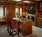 KraftMaid open kitchen space