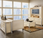 Kraftmaid Streamlined Storage Options in this City Great Room