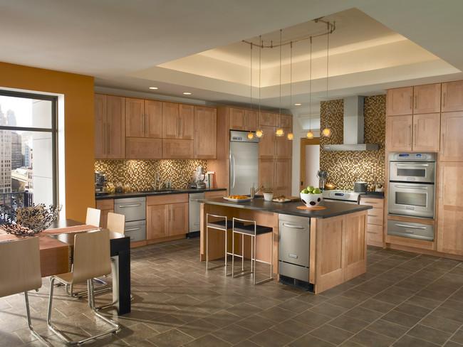 Kitchen ideas kitchen design kitchen cabinets for Colorful kitchen designs gallery