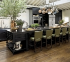 Kraftmaid Harrington Maple Square Cabinetry in Onyx Creates