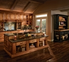 Kraftmaid Birch Kitchen Finished in Praline