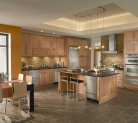 Kraftmaid Maple Cabinetry in Toffee