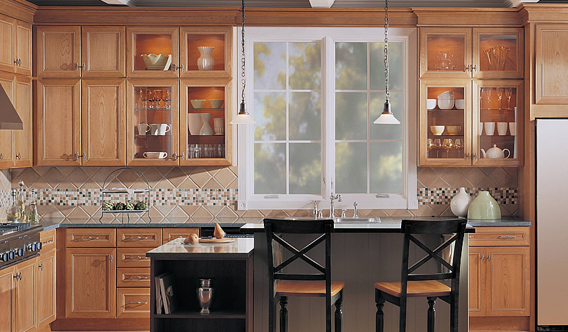 ... merillat-classic-lariat-in-cherry-cider ... & Kitchen Remodeling and Kitchen Design | Greensboro NC