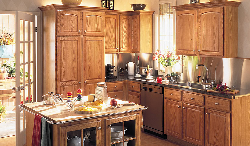 Kitchen remodeling and kitchen design greensboro nc for Merillat kitchen cabinets