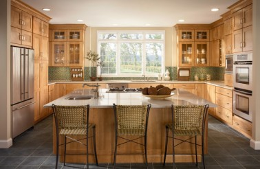 modern-style-kitchen-with-cabinetry-in-warm-toffee