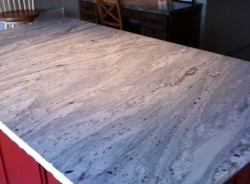 Honed Granite Display