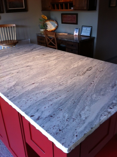 Honed Granite Display | Carolina Kitchen & Bath