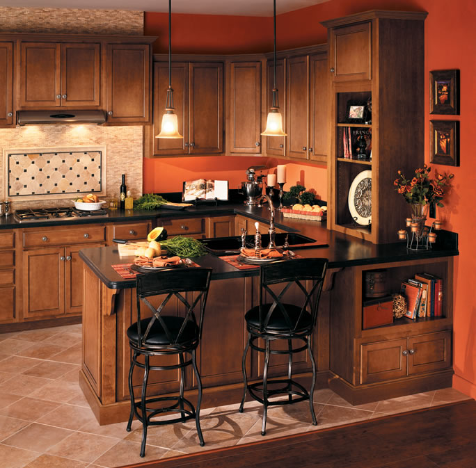 Merillat basics kitchen cabinets carolina kitchen and bath for Birch kitchen cabinets review