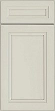 Rowan, door style, flat panel, Mist finish