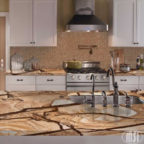 style kitchen simple dramatic cabinets countertops