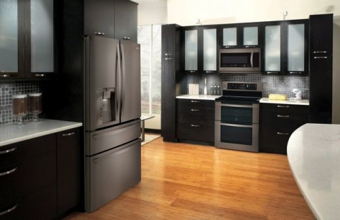 black stainless appliances traditional finish new feature