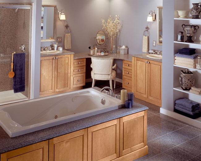 Bathroom Remodeling| Bathroom Design | Bathroom Vanities on Bathroom Ideas With Maple Cabinets  id=87941